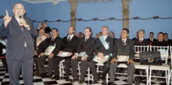 Un episcop catolic din Brazilia participa la sarbatorile masonilor
